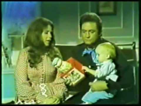 Johnny Cash & June Cash - Turn Around [Featuring John Carter Cash's 1st TV Appearance] - YouTube