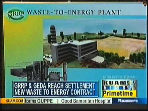 New waste-to-energy contract before the Guam Legislature