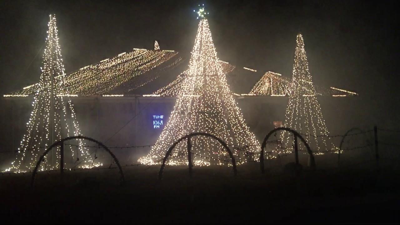 2016 animated christmas light display gulf breeze pensacola florida lights