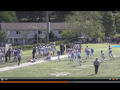 Cole Tracy Assumption College All American Kicker Redshirt Freshman Highlights 2015