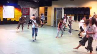 Zombies Attack Freestyle Martial Arts Halloween 2012
