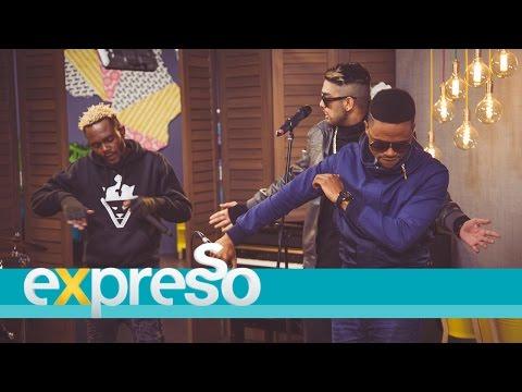 Bo, AJ & Kwesta Dakar debut 'Rollercoaster' LIVE