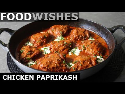Chicken Paprikash - Hungarian Chicken Stew - Food Wishes
