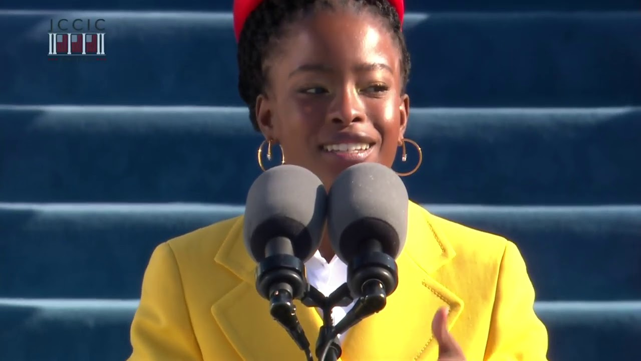 "Watch ""The Hill We Climb"" by Amanda Gorman, 22, the youngest inaugural poet in US history."