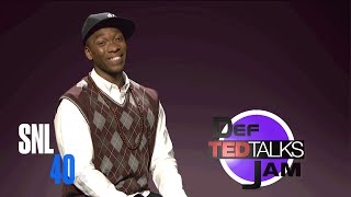 Cut For Time: Def TED Talks - Saturday Night Live