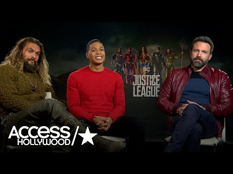'Justice League': Ben Affleck, Jason Momoa & Ray Fisher Talk About Their Bromance Access Hollywood