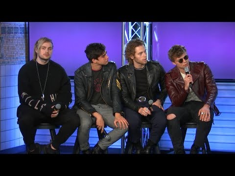 Why 5 Seconds of Summer Are Nervous To Release New Music