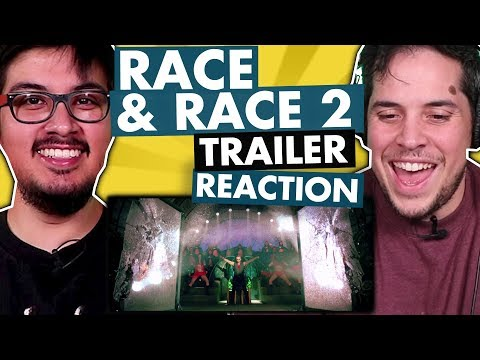 Race 1 and Race 2 Trailer Reaction Video | Saif Ali Khan | John Abraham | Discussion