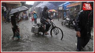 Heavy Rains Continue To Lash Mumbai; Several Areas Water Logged, Train Services Hit thumbnail