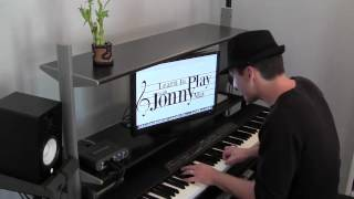 Slow and Soulful Blues Piano Improvisation - played by Jonny May