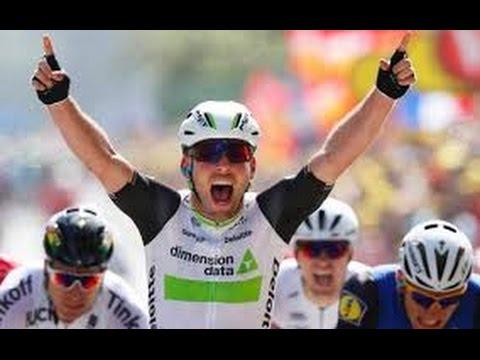 Tour de France 2016: Mark Cavendish wins again on stage 14