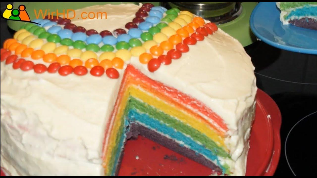 Rainbow cake rezept deutsch