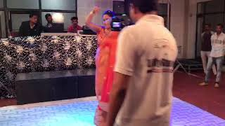 Loung laachi dance performance in lady sangeet Bhudhlada