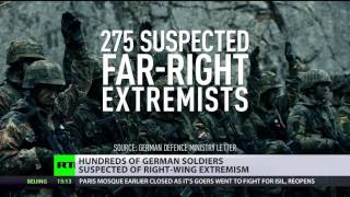 Army Radicalization: Hundreds of German soldiers suspected of right-wing extremism