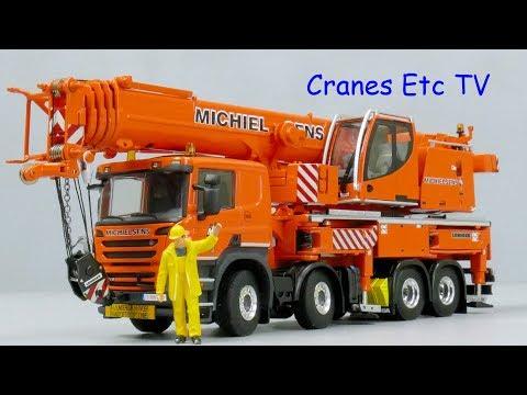 WSI Liebherr LTF 1060 Mobile Crane 'Michielsens' by Cranes Etc TV