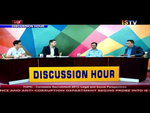 8 PM DISCUSSION HOUR TOPIC : Constable Recruitment 2013-Legal & Social Perspect   9 JUNE 2018 / LIVE