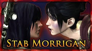 Dragon Age: Origins (Witch Hunt) - Stabbing Morrigan
