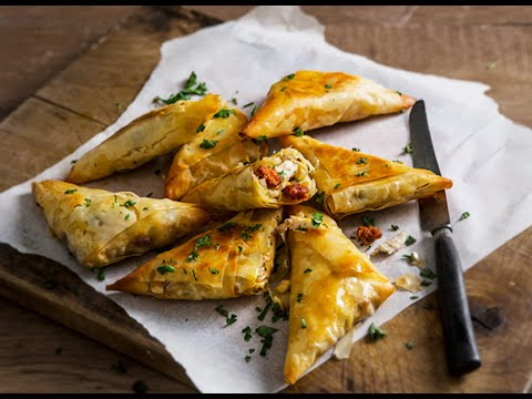 Jus Create - Chicken, Manchego & Chorizo Filo Briouats - Pastry Recipes From Jus-Rol™
