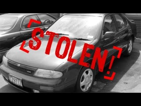 THEY STOLE MY CAR...