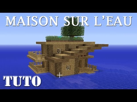 minecraft comment faire une maison sur l 39 eau ps4 youtube. Black Bedroom Furniture Sets. Home Design Ideas