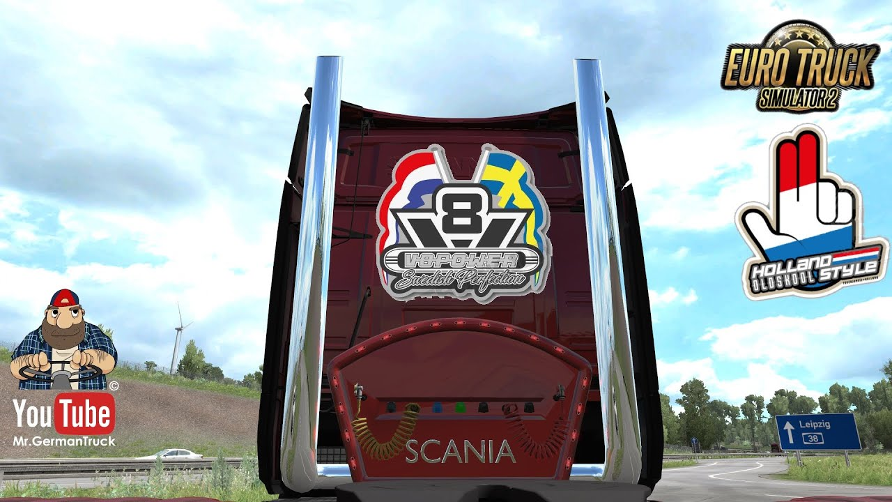 [ETS2 v1.37] Scania Next Gen High Pipe with airbar v1.1