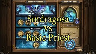 Hearthstone: Sindragosa with a Basic Priest Deck