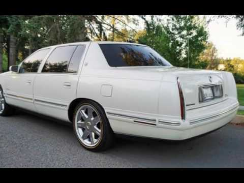 1999 Cadillac Deville Deville Pearl White For Sale In