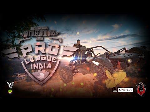 Pro League - VE | Bluestacks India Week 2 | OnePlus | Playmonk | K18 *2 min delay*