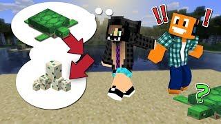 """Minecraft AQUA #25 - """"Akiri tworzy farmę żółwi!"""""""
