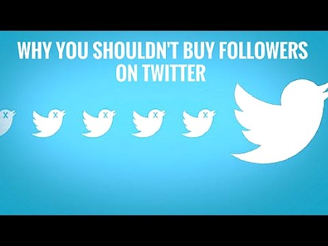 4 Reasons Why You Shouldn't Buy Followers On Twitter