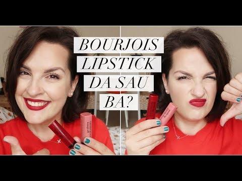 Bourjois Rouge Velvet Lipstickfirst Impressions Giveaway închis
