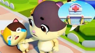 ★NEW★おいしゃさんなんか怖くないよ   お医者さんごっこ   赤ちゃんが喜ぶアニメ   動画   ベビーバス  BabyBus