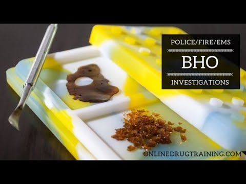 Online Training in Butane Hash Oil Lab Investigations - YouTube