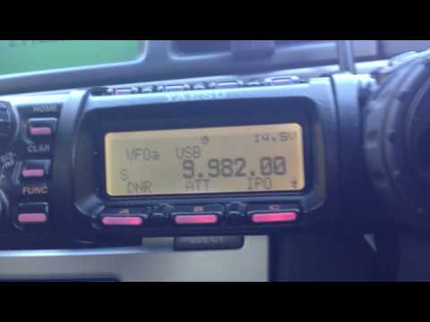 9982 kHz Australian outback cattle station