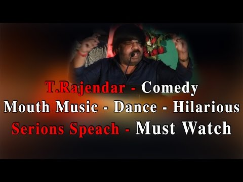 T.Rajendar- Comedy- Mouth music- Dance- Hilarious- Serious speech- Must watch- Red pix 24x7  # TRajendarSeriousSpeech #TRajendarSeriousspeech #TRajendarHilarious #TRajendarComedy #TRajendarMouthmusic #Funnyspeech #TAGEntertainment #TRfunnyspeech #TRDance #ThagaduThaguduAudioLaunch  Produced by Ven Govinda of 'TAG Entertainment', Thagadu Thagadu- Oru CD Muppathu Rubai is an upcoming feature film based on piracy written and directed by R.Rahesh. This film stars Pa. Vijay and Sanea Thara in lead roles. Music for this film is scored by Balamurali and cinematography is handled by Maravarman.  The audio launch of this film took place today at Sathyam cinemas in a very grand manner and legendary director K.Balachander launched the banner TAG entertainment as well as the music album of this film which was then received by veteran actor Sathyaraj. The special guests who graced the event are K.Balachander, Sathyaraj, T.Rajendar, Venu Aravind, Shaam, Neelima Esai, Jayam Ravi and CV Kumar. Most of the celebrities who attended the event spoke against piracy, especially T.Rajendar who got a tad emotional while speaking against the issue. www.bbc.co.uk/tamil indiaglitz. tamil.oneindia.in  behindwoods.com puthiyathalaimurai.tv VIJAY TV STARVIJAY Vijay Tv  -~-~~-~~~-~~-~- Please watch: