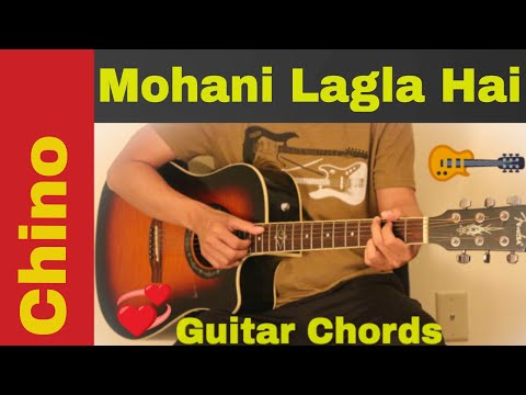 Mohani Lagla Hai - Guitar chords | lesson - YouTube
