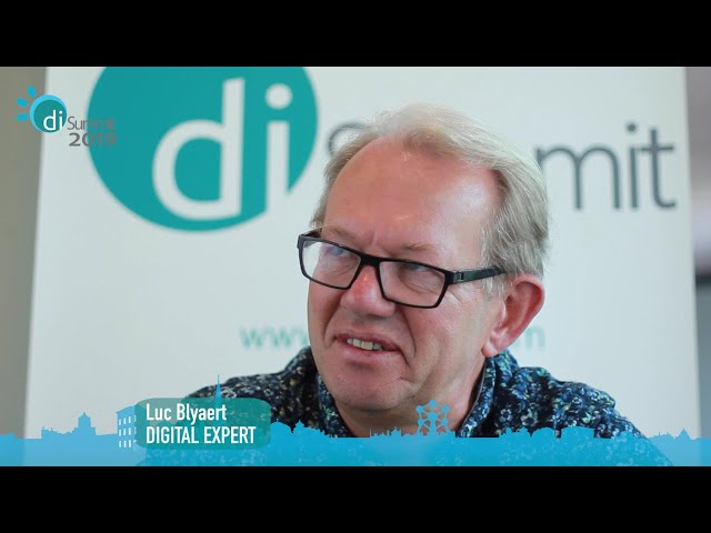 interview with Luc Blyaert,  Communications Manager at Ondernemers voor Ondernemers vzw