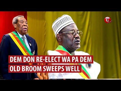 Dem don re-elect wa grand pa dem back | Na old broom dey sweep well