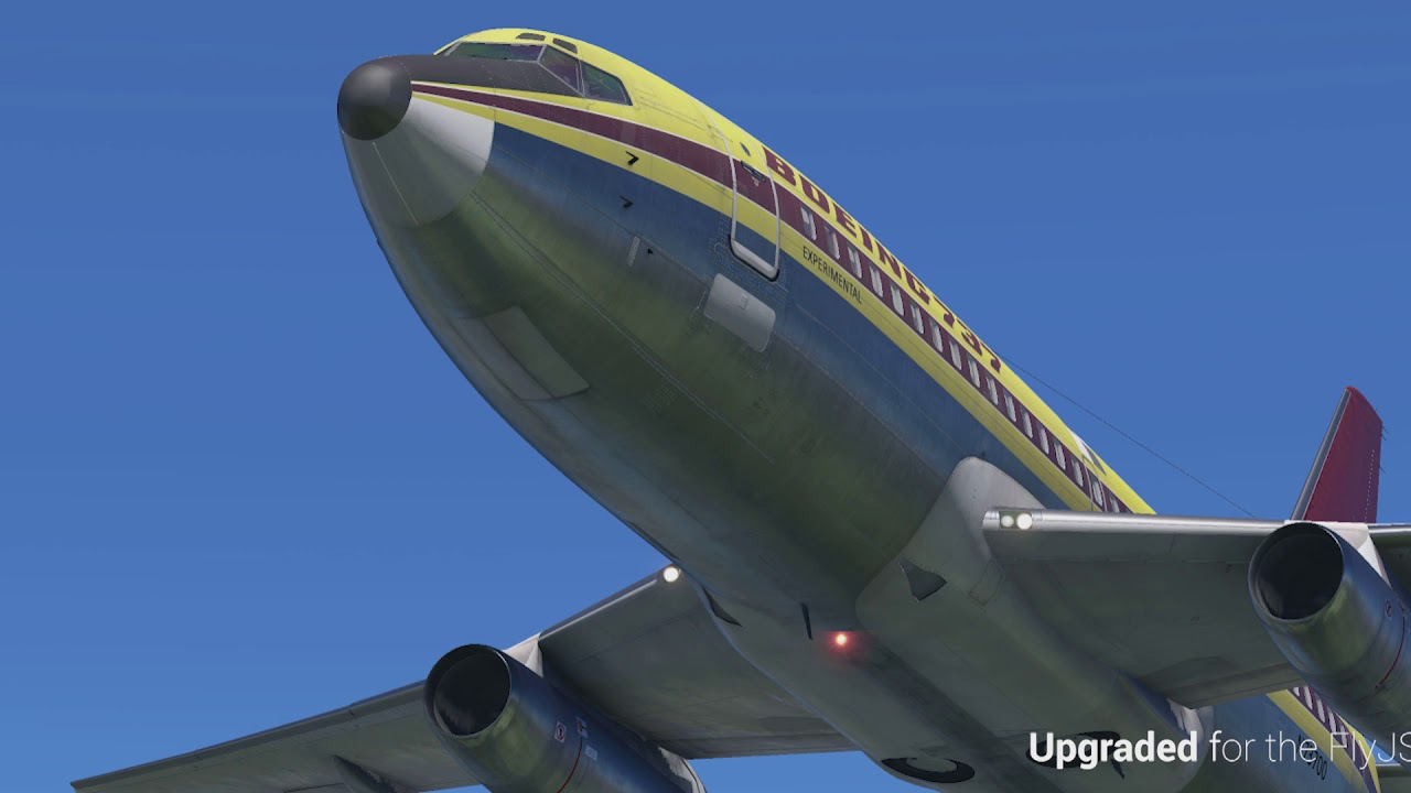 FlyJSim Releases Rainman Package for 727 Series Professional
