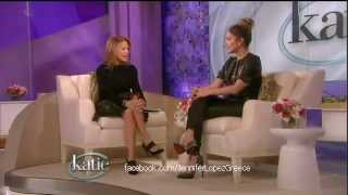 Jennifer Lopez & Jason Statham on 'Katie Couric Show' 25/1/13 (Part 1/3)
