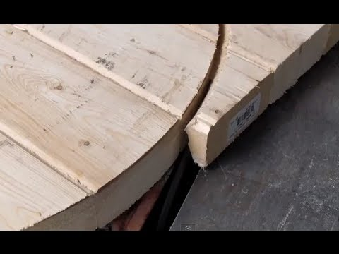 Table Saw Circle Cutting Jig CUT A CIRCLE table saw from 2x4's DIY flywheels and tables - YouTube