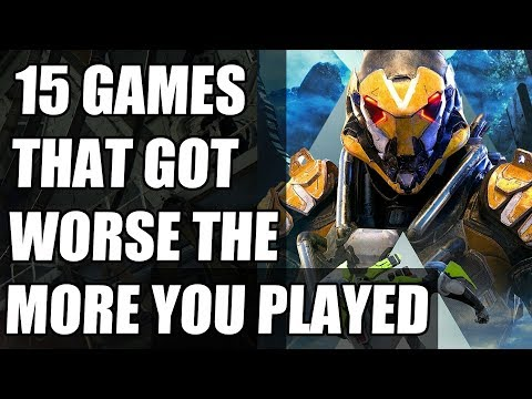15 Games That Got Worse The More You Played