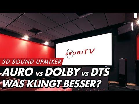 3D Sound bei jedem Film: AURO-3D, DOLBY & DTS UPMIXER IM VERGLEICH | GROBI.TV