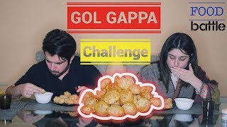 Gol Gappay Eating Food Challenge | Deadly Punishment | Food Battle | Pani Puri Competition | Mukbang