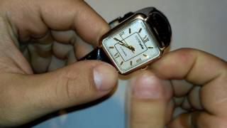 Золотые мужские Часы Мактайм maktime