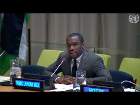 Marc Lamont Hill Speaks at the UN about Palestinian Rights