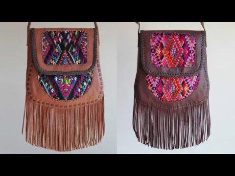 Handmade leather bag (La chapina bag)