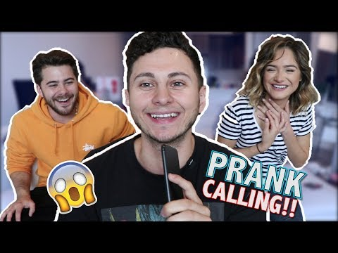 Quitting Jobs We Don't Have! Pranking calling w/ Dom DeAngelis & Chachi Gonzales