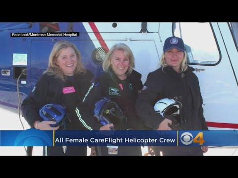 First All-Female Crew Celebrated By Western Slope Air Ambulance Service