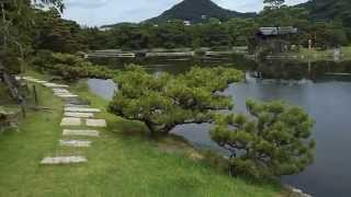 紀州徳川藩第10代藩主徳川治宝が造営した池泉回遊式・国名勝庭園「養翠園」!